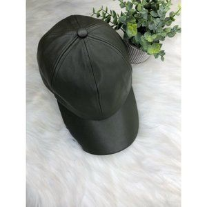 Charlotte Russe Faux Leather Hat